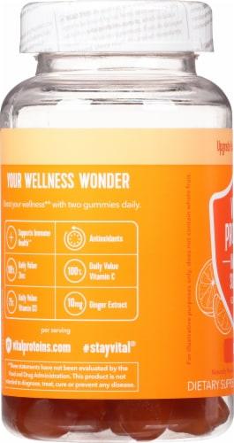 Vital Proteins® Citrus Immune Support Gummies Perspective: left
