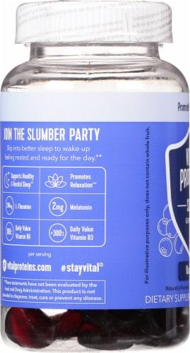 Vital Proteins® Blueberry Sleep Gummies Perspective: left