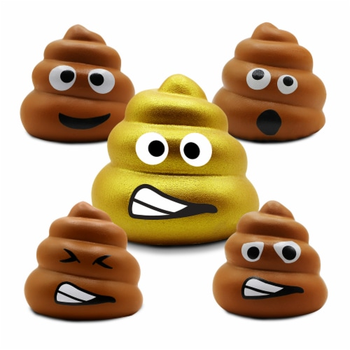BravoNavo Junk Food Doody Slow Rise Soft Squeeze Squishy Toy Perspective: left