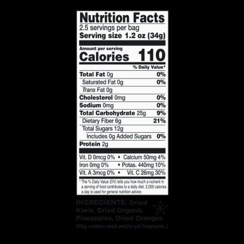 RIND Snacks Dried Fruit Variety Pack, 3oz Bags, 6 Bags Total Perspective: left