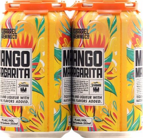 10 Barrel Brewing Mango Margarita Prepared Cocktails Perspective: left