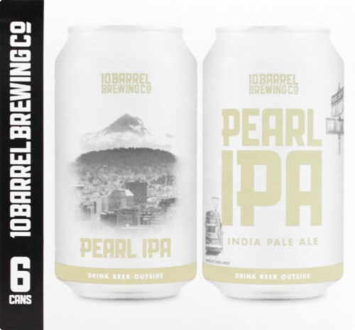 10 Barrel Brewing Co. Pearl IPA Perspective: left