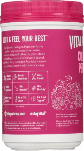 Vital Proteins  Collagen Peptides   Mixed Berry Perspective: left