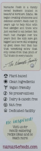 Namaste Foods Gluten-Free Chocolate Cake Mix Perspective: left