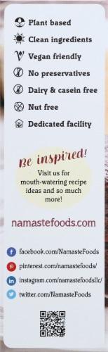 Namaste Foods Organic Gluten Free Dark Chocolate Brownie Mix Perspective: left