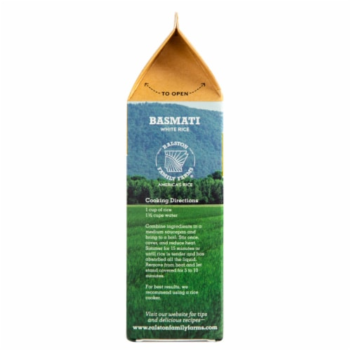Ralston Family Farms - Basmati White Rice Perspective: left
