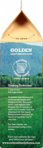 Ralston Family Farms Golden Light-Brown Rice Perspective: left