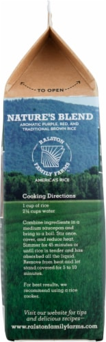 Ralston Family Farms Nature's Blend Rice Perspective: left