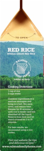 Ralston Family Farms Red Rice Perspective: left