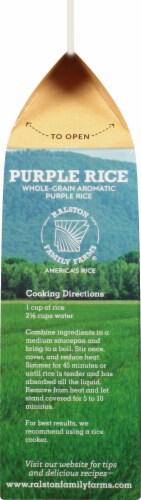 Ralston Family Farms Aromatic Purple Rice Perspective: left