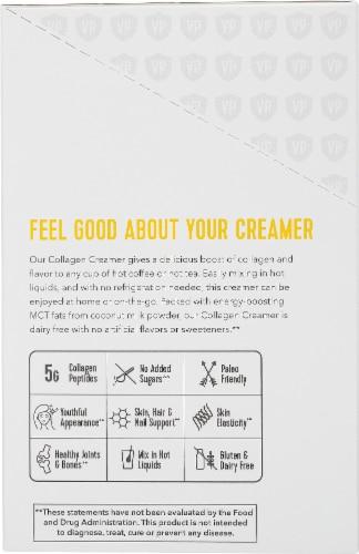 Vital Proteins Vanilla Collagen Creamer Perspective: left