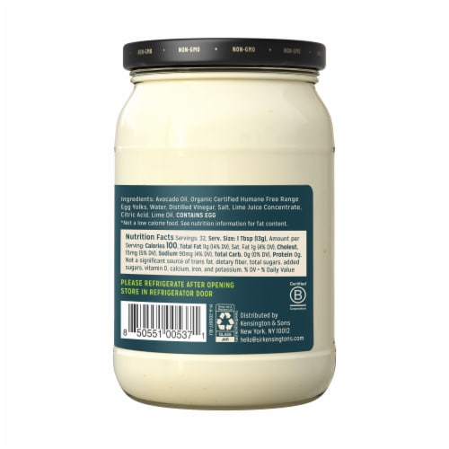 Sir Kensington's Avocado Oil Mayonnaise Perspective: left