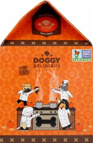 Doggy Delirious Pumpkin Bones Perspective: left