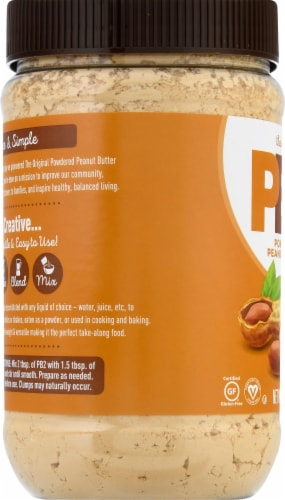 Bell Plantation PB2 Powdered Peanut Butter Perspective: left