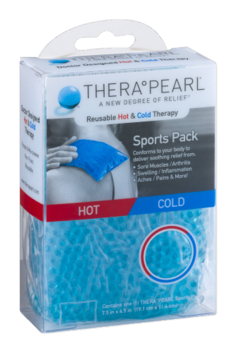 TheraPearl Sports Pack Perspective: left