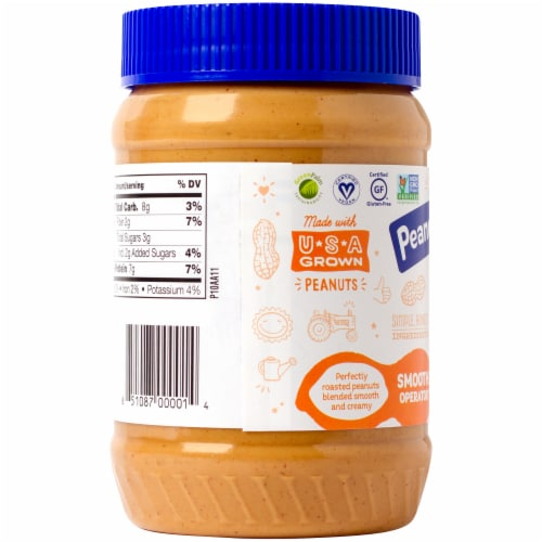 Peanut Butter & Co. Smooth Operator Creamy Peanut Butter Perspective: left