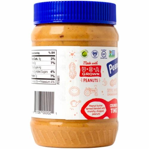 Peanut Butter & Co. Crunch Time Crunchy Peanut Butter Perspective: left