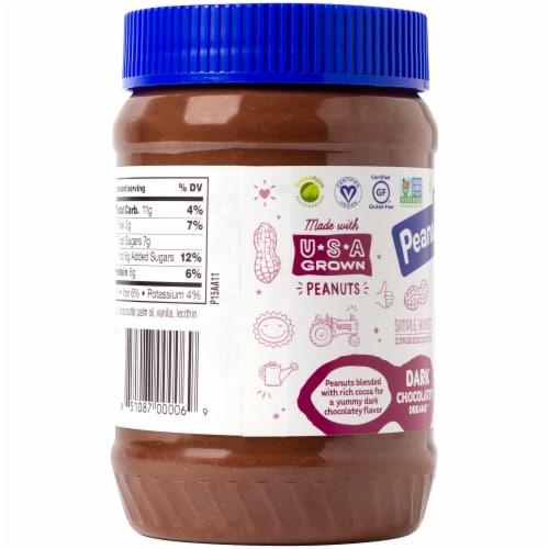 Peanut Butter & Co. Dark Chocolatey Dreams Peanut Butter Spread Perspective: left