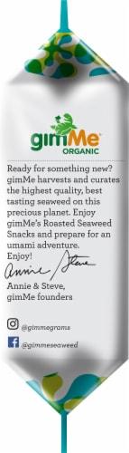 Gimme Organic Roasted Seaweed And Sea Salt Perspective: left