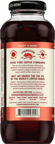 Chameleon Cold Brew Mexican Coffee Perspective: left