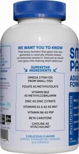 SmartyPants Adult Vitamin Gummies Perspective: left