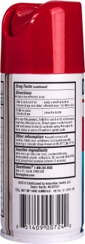 Dermoplast First Aid Antiseptic & Pain Relief Spray Perspective: left