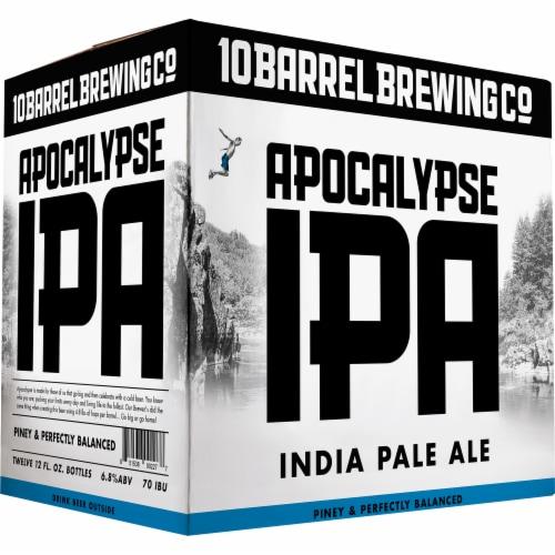 10 Barrel Brewing Co. Apocalypse IPA Perspective: left