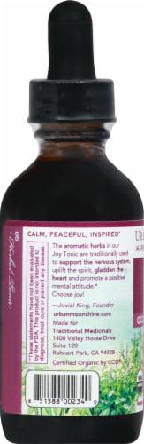 Urban Moonshine Joy Tonic Herbal Supplement Perspective: left