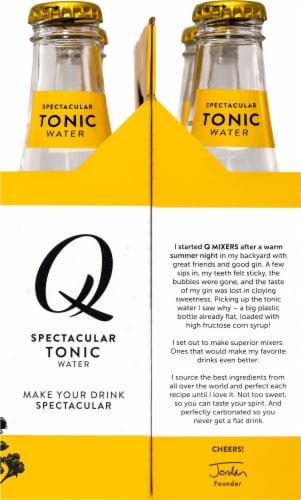 Q Mixers Tonic Water Perspective: left