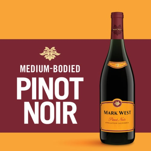 Mark West Pinot Noir Red Wine Perspective: left