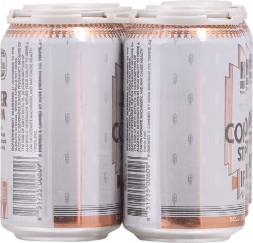 Huss Brewing Co. Copper State IPA Perspective: left