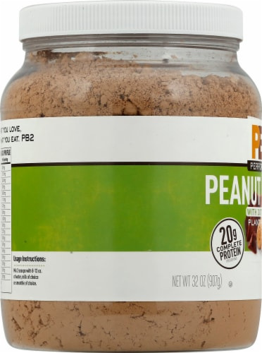 PB2 Performance Peanut with Dutch Cocoa Protein Powder Perspective: left