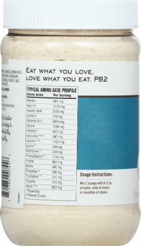 PB2 Performance Almond Protein with Vanilla Powder Perspective: left