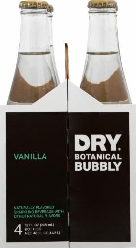 DRY Sparkling Vanilla Bean Soda Perspective: left