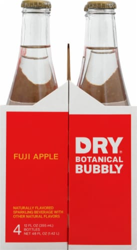 Dry Sparkling Fuji Apple Soda Perspective: left