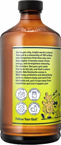 Health Ade Ginger-Lemon Kombucha Perspective: left
