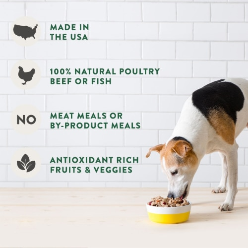 Freshpet DogJoy Slow-Grilled Chicken Recipe Treats Perspective: left