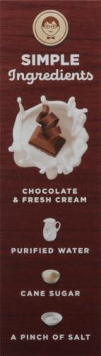 Jonny Pops Chocolate Fudge with Fresh Cream Pops Perspective: left