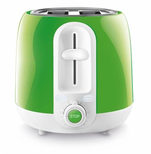 Sencor 2-Slot Toaster - Green Perspective: left