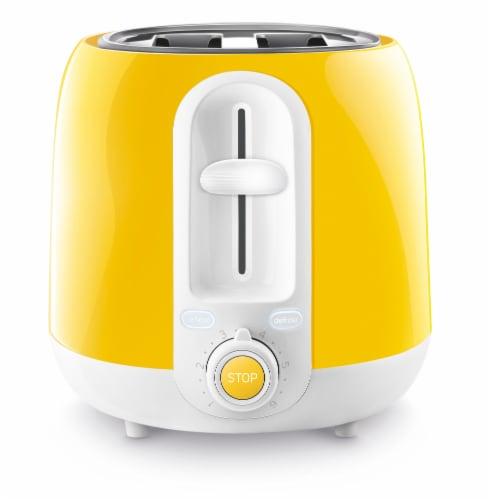 Sencor 2-Slot Toaster - Yellow Perspective: left