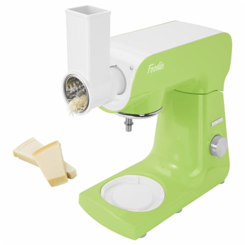 Sencor Stand Mixer with Accessories - Lime Green Perspective: left