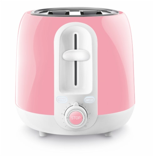 Sencor 2-Slot Toaster - Coral Red Perspective: left