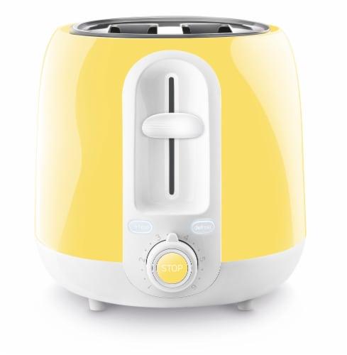 Sencor 2-Slot Toaster - Sunflower Yellow Perspective: left