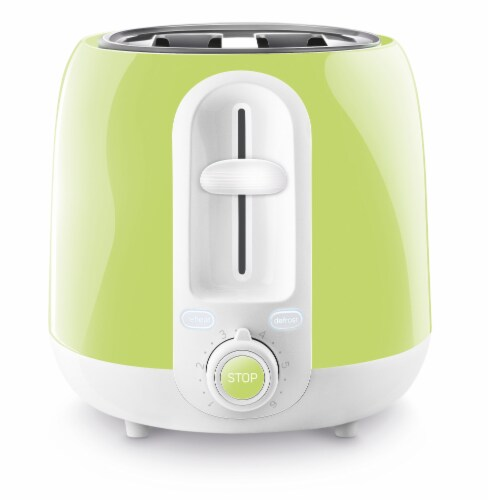 Sencor 2-Slot Toaster - Lime Green Perspective: left