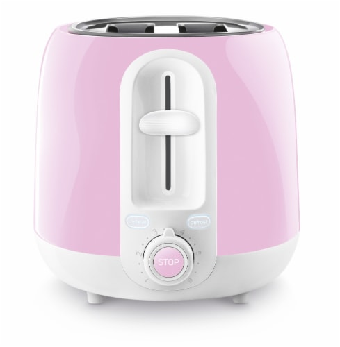 Sencor 2-Slot Toaster - Cherry Blossom Pink Perspective: left