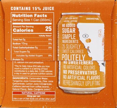 Tangerine Wave Soda Perspective: left