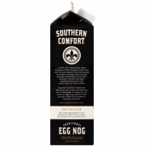 Southern Comfort Traditional Egg Nog Perspective: left