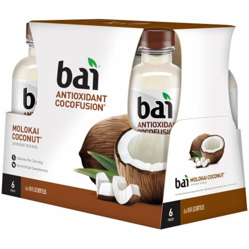 Bai Cocofusion Molokai Coconut Antioxidant Infused Beverage Perspective: left