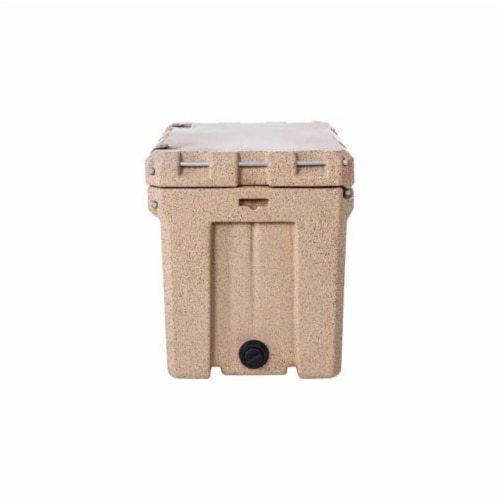 Canyon Coolers Scout 22 Quart 20 Liter Insulated Cooler w/ Tie Downs, Sandstone Perspective: left