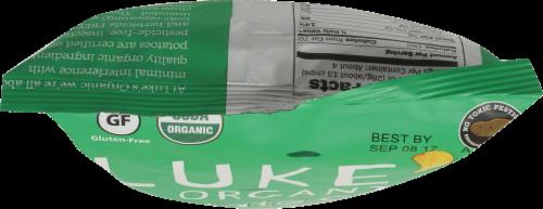 Luke's Organic Sour Cream + Onion Potato Chips Perspective: left